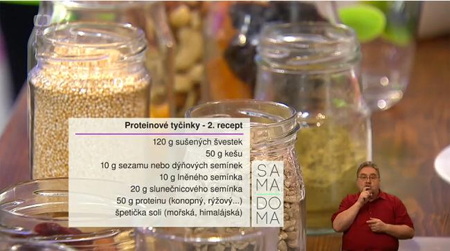 Věruška v Sama doma 26.2.2016 - 2. recept