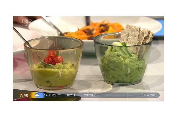 Detox s Věruškou v Dobrém ránu -avokádo na sladko i slano