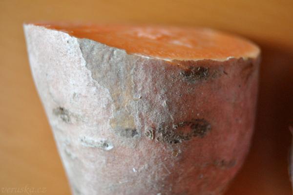 Batáty oranžové detail