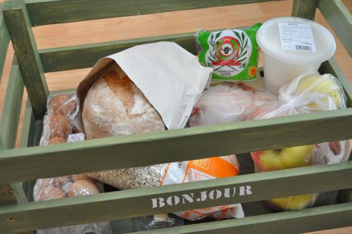 Bonjour potraviny - můj nákup
