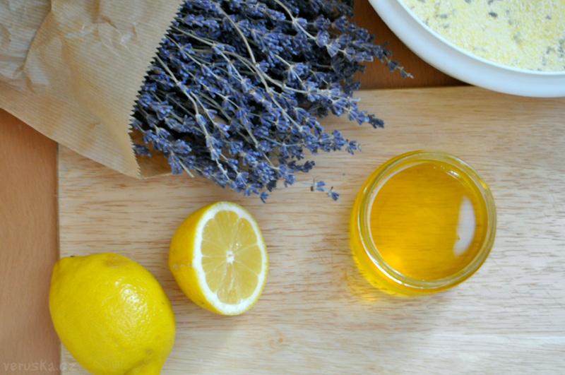 Bezlepkové mufiny - citron a levandule