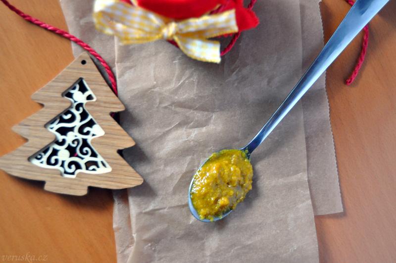 Domácí hořčice s oreganem