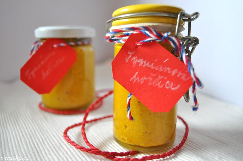 Domácí hořčice tymiánová
