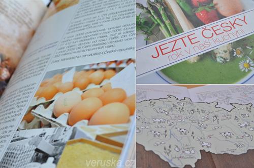 Jezte česky - koláž z kuchařky