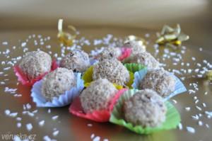 Cukroví - kokosové kuličky