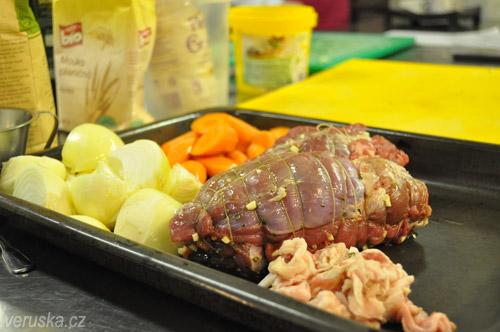 Škola vaření U Kastelána - jehněčí kýta
