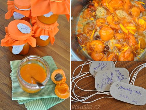 Meruňkový džem - výroba