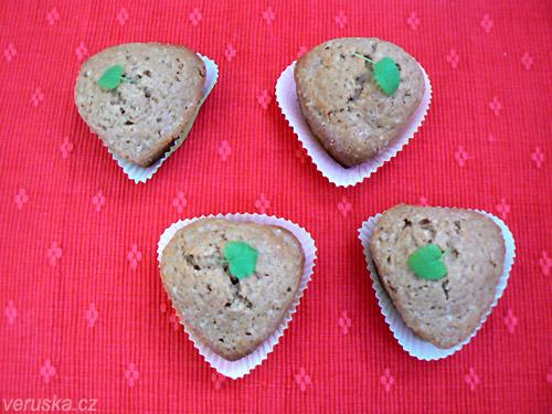 Rebarborové muffins
