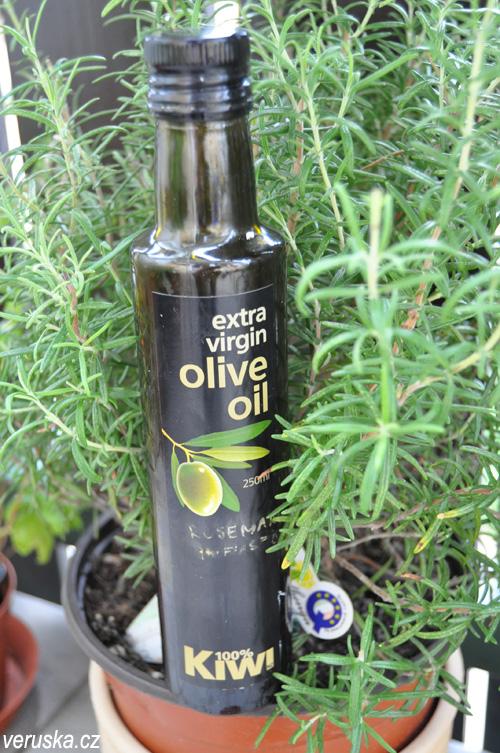 Olivový olej ovoněný rozmarýnem