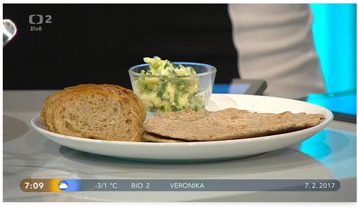 Placky a bylinkové máslo - Dobré ráno 7.2.2017