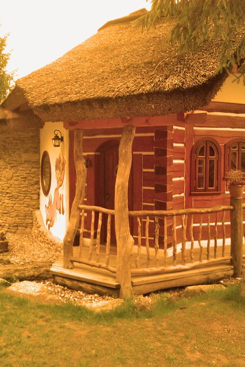 Pohádková vesnička - Budulínkova chaloupka
