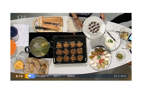 Mrkvové muffiny a ořechové kuličky v Dobrém ránu 23.9.2015