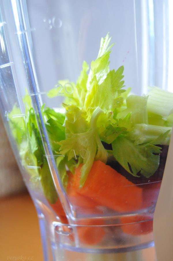 Zelenina na smoothie