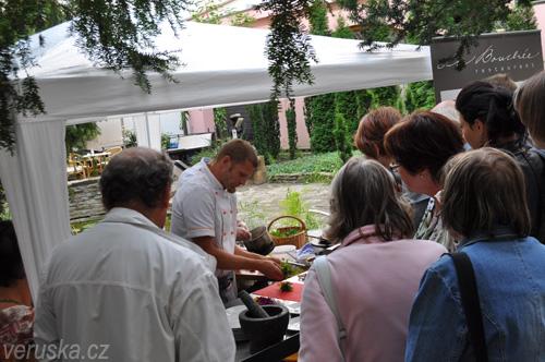 Sousedé na talíři - ukázkový stánek La Boucheé