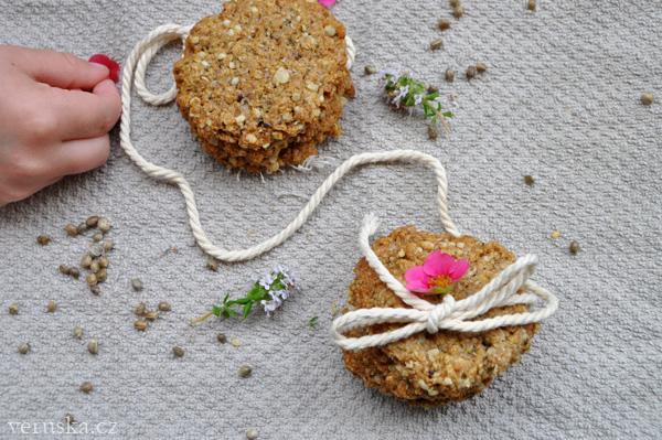 Špaldovo-ovesné sušenky