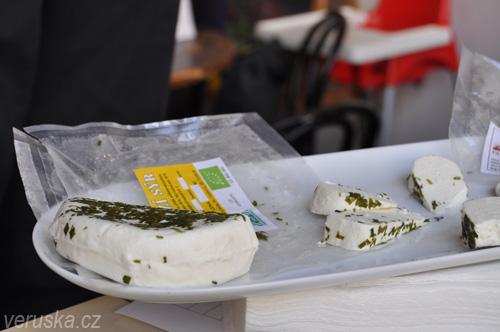 Biopotravina roku 2012 - Kozí sýr k ochutnání