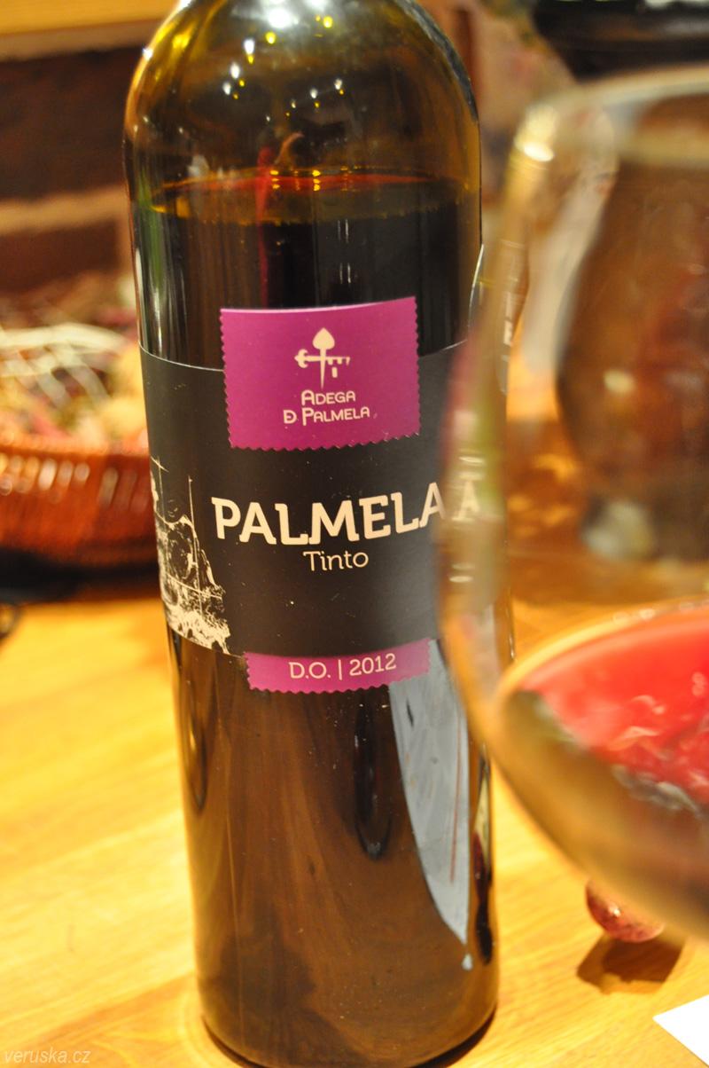 Víno z Dvě deci - Palmela