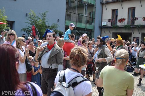 Dětský den u Městského divadla Brno - trpaslíci