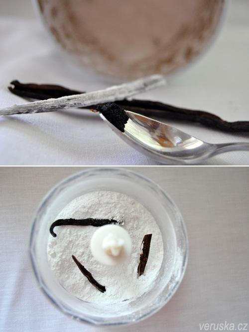 Vanilkový lusk a semínka