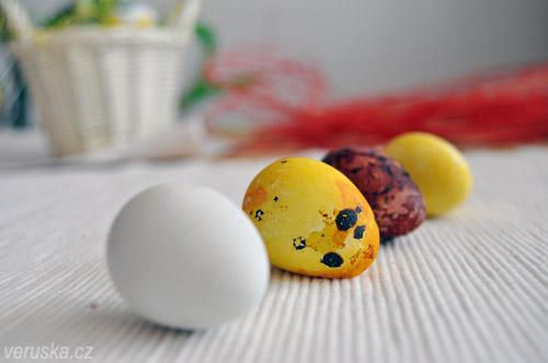 Velikonoční vejce křepelčí