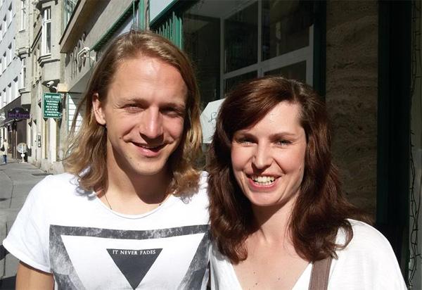 Věruška a Tomáš Klus