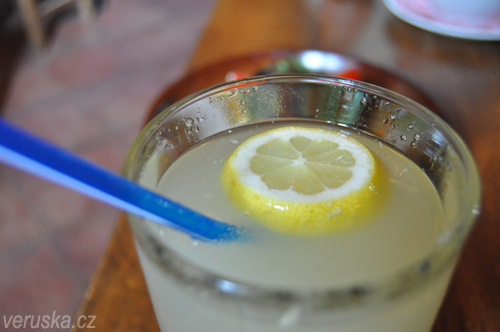 Kleť - zázvorová limonáda
